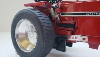20.8R38 Pro-Puller Tire w/20.8 Aluminum Rim