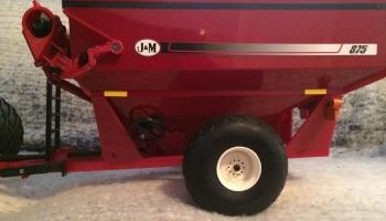 28L26 Turf Tires on a Grain Cart by Craig Duncan